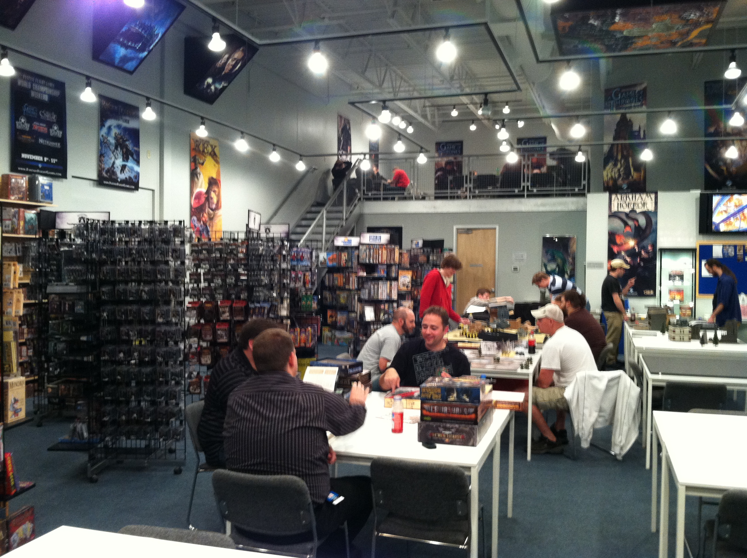 The Journeyman GM » Fantasy Flight Games Event Center