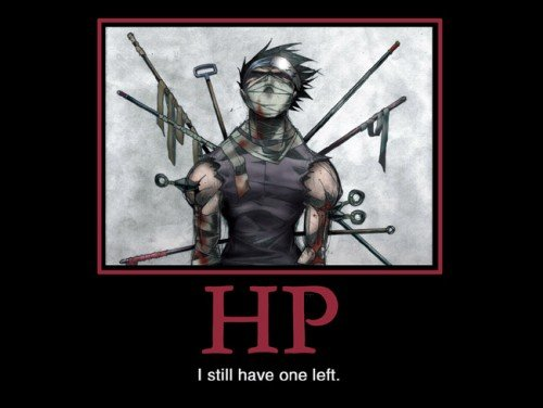 HP. I still have one left.