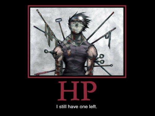 HP. I still have one left.