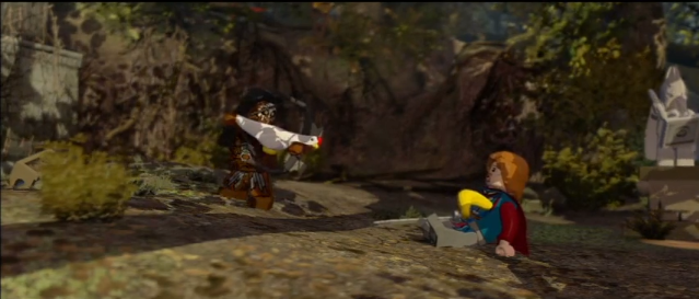 Lego Lurtz and Boromir
