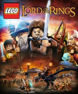 Lego Lord of the Rings Cover Art